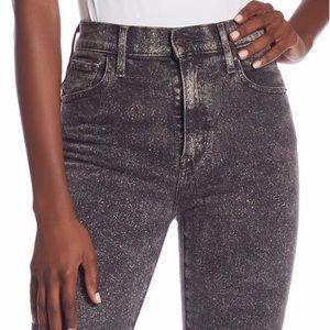 Levi's   Mile High Super Skinny Acid Wash Jean